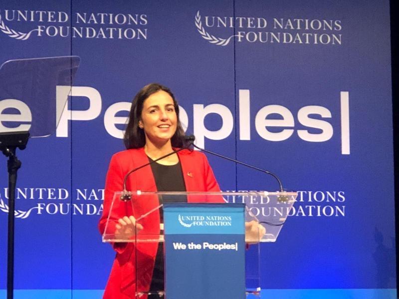 Carmen Pombo promueve el «rule of law» ante Naciones Unidas